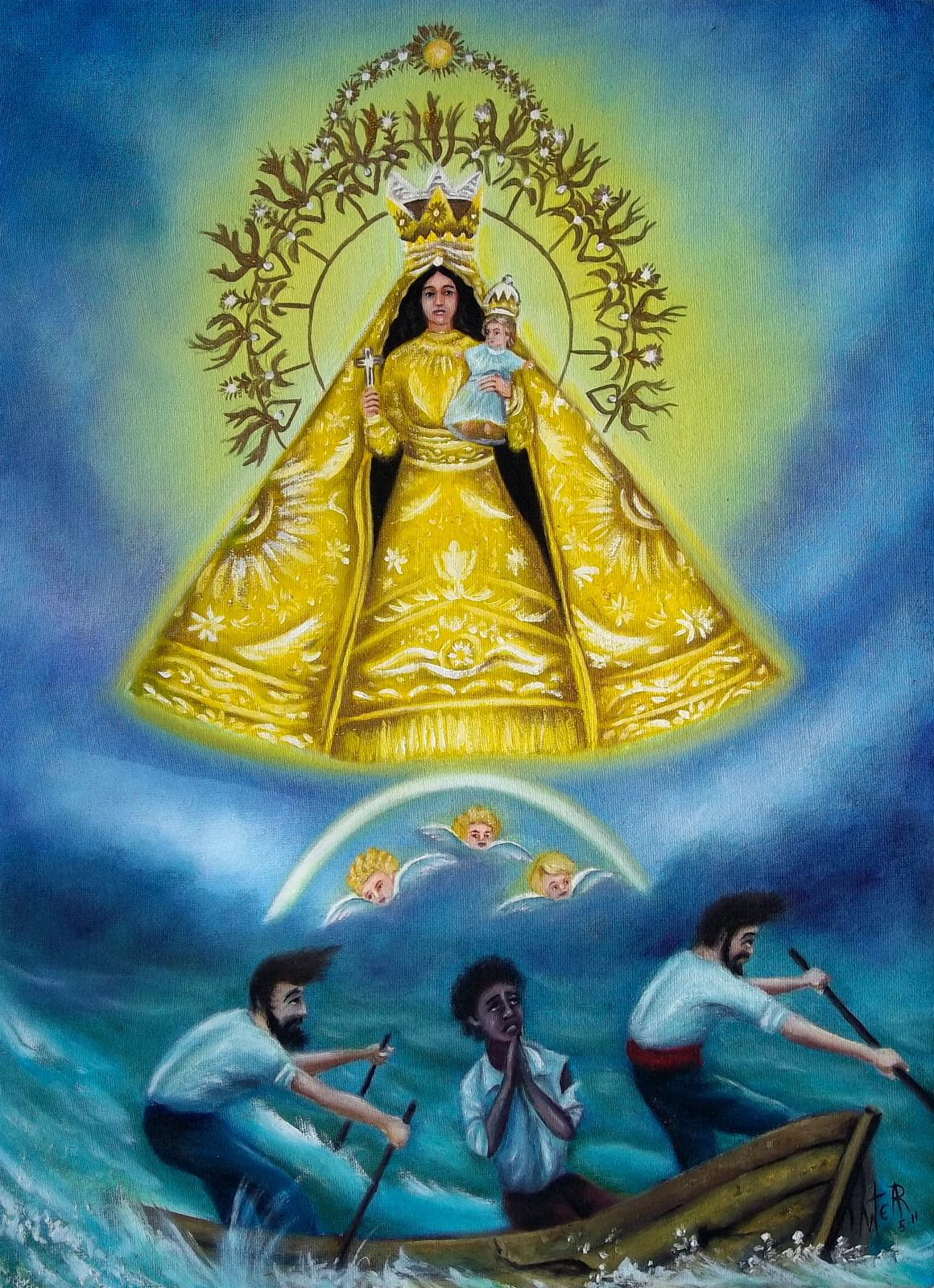 Virgen de La Caridad by Artemio Alvarez Ramirez